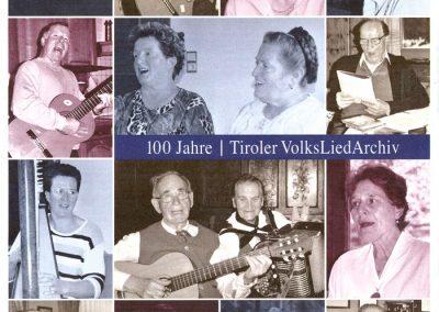 Festschrift 100 Jahre Tiroler Volksliedarchiv - Seite 1
