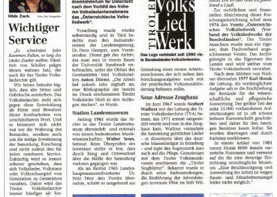 100 Jahre Tiroler Volksliedarchiv - Festschrift Seite 4