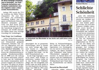 100 Jahre Tiroler Volksliedarchiv - Festschrift Seite 5