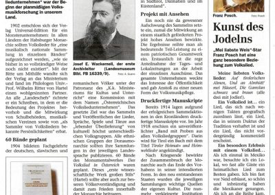 Festschrift 100 Jahre Tiroler Volksliedarchiv - Seite 9