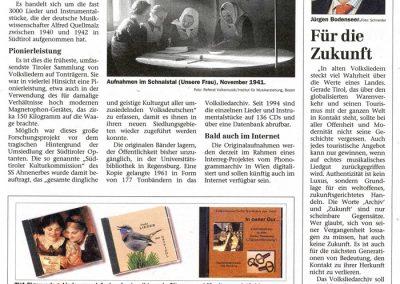 Festschrift 100 Jahre Tiroler Volksliedarchiv - Seite 13