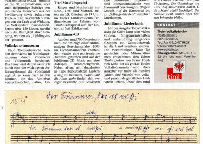 Festschrift 100 Jahre Tiroler Volksliedarchiv - Seite 16