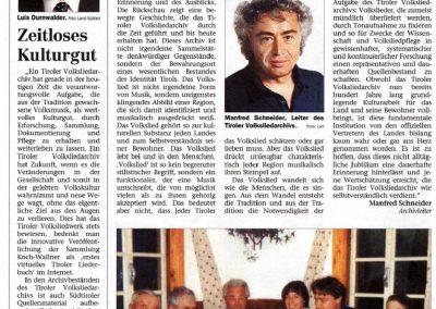 100 Jahre Tiroler Volksliedarchiv - Festschrift Seite 2