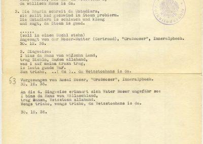I bins da Hans von Wällaschland [I-IV]