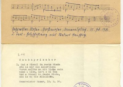 Neubayr (Alte Weis) – Und s Diandl in roatn Miada